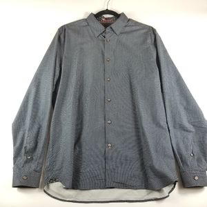 Ted Baker London 100% Cotton Button Down, 5